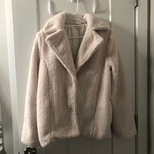 Max studio fluffy coat